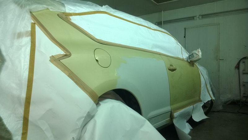 Покраска авто Citroen C4