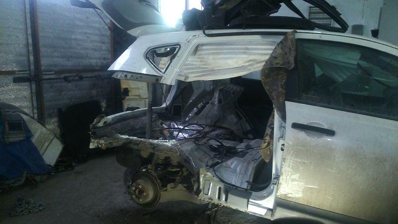 Сложный ремонт Nissan Qashqai